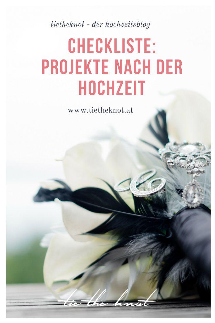 Checkliste Nach Der Hochzeit Was Ist Nach Der Heirat Zu Tun Hochzeit Brautstrauss Hochzeitsgaste