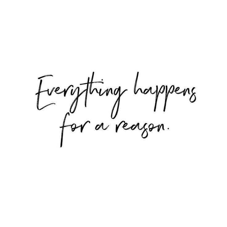 Alles geschieht aus einem Grund. Lebenszitat, Inspiration, gemeint zu sein, Frauen emp …