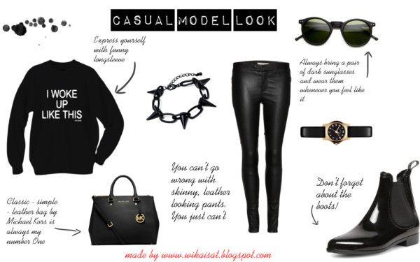 CASUAL MODEL LOOK