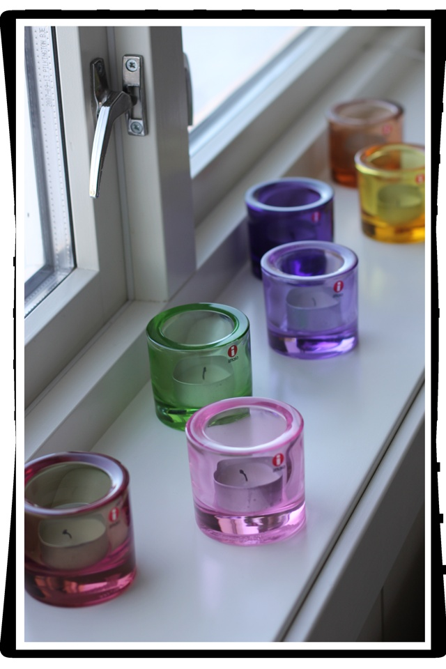 iittala Kivi Candle holders.. love the color combination!!!<3