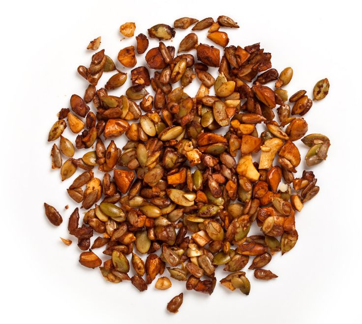 For a salty, savory, crunchy boost, sprinkle this on roasted vegetables, soups, and hot cereal.