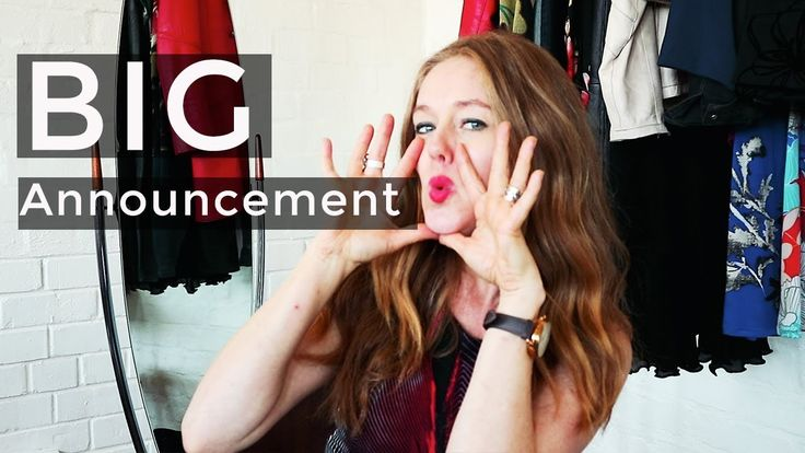 How to look fashionable over 40 - Big Announcement - over 40 style