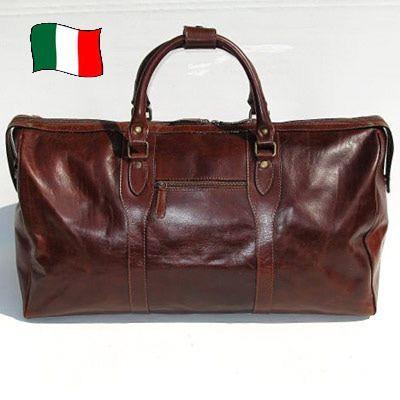 Tuscany Leather - Berlin - Sac de voyage en cuir avec boucles - Grand modèle Noir - TL1013/2 adCAxg