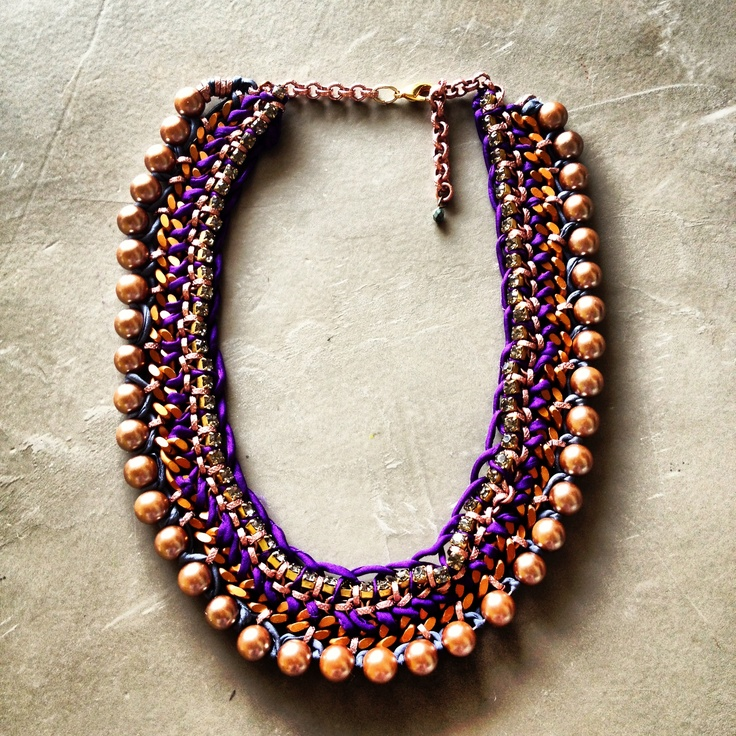 Hermina wristwear and more necklace