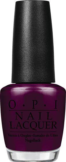 OPI Nail Lacquer - Black Cherry Chutney 0.5 oz - #NLI43