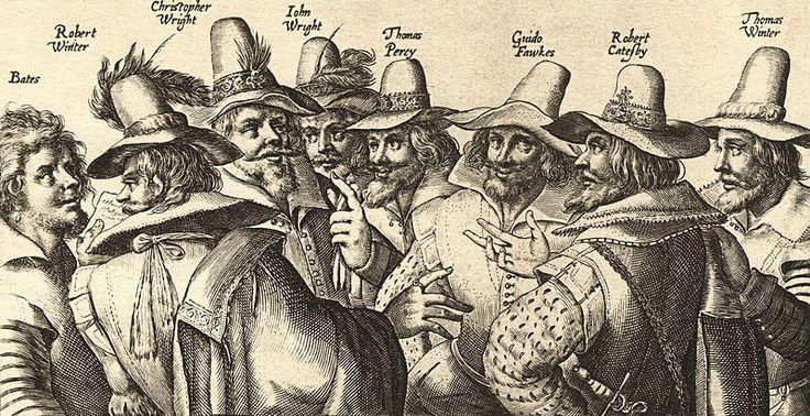 Een ets van Crispijn van de Passe met 8 van de 13 samenzweerders van het Engelse Buskruitverraad in 1605. Van de Passe is rond 1564 in Arnemuiden geboren en vertrok in 1580 naar Antwerpen. Hij was de stamvader van een aantal internationaal actieve, bekende graveurs.