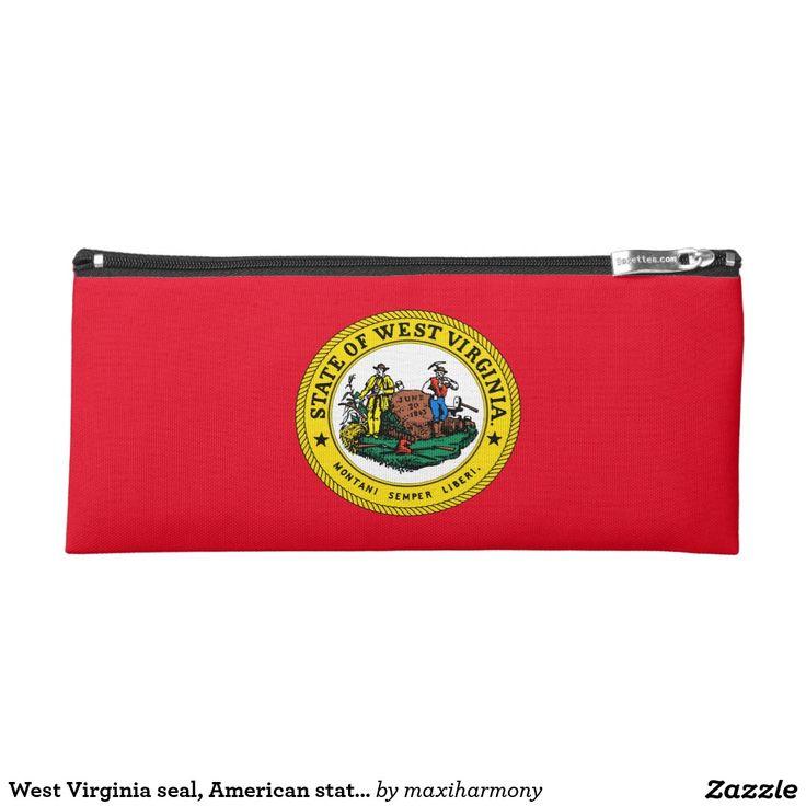 West Virginia seal, American state seal Pencil Case