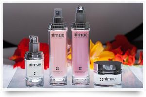 Nimue skin care products.