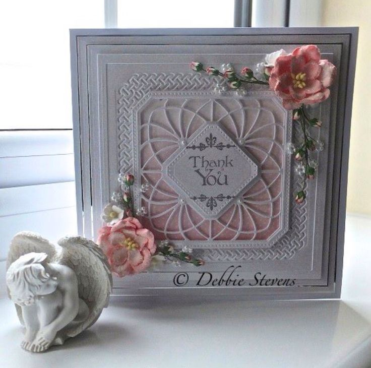 Card Making Ideas Using Dies Part - 32: Paperpastimes Card Using Sue Wilson Noble Dies
