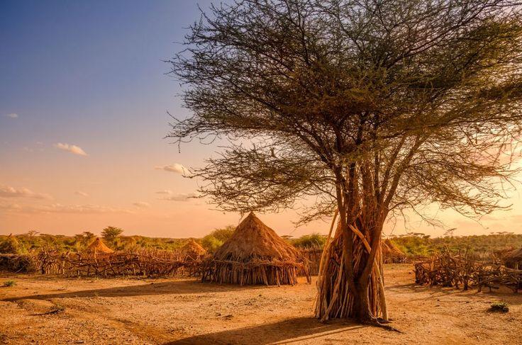 Hamer Village in Äthiopien   http://www.africa-royal-tours.de/aethiopien-reisen/