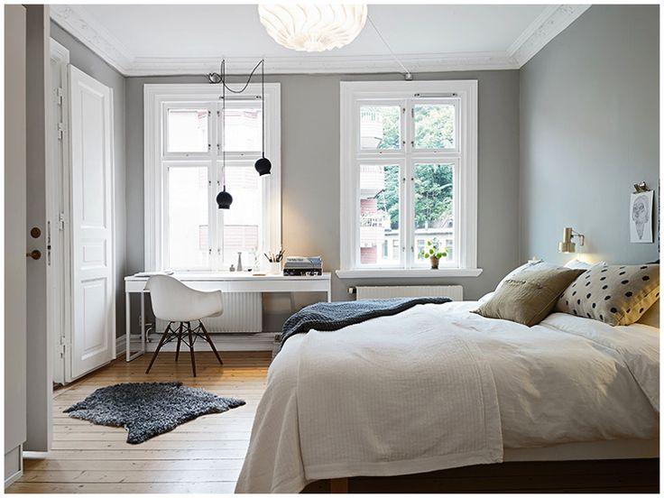 bedroom decoration (modern interior/space design)
