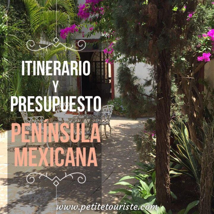 ¿Quieres hacer un viaje por Campeche, Yucatán y Quintana Roo y no sabes por donde empezar? Esta guía te ayudará.