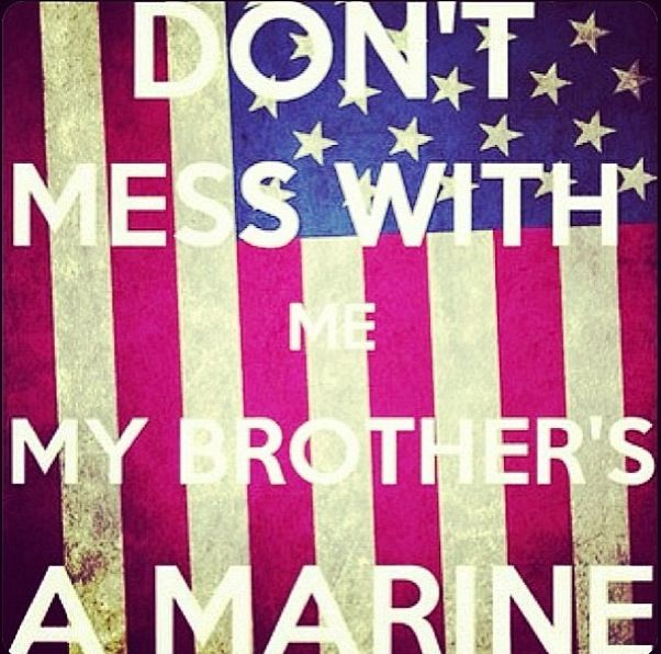 Proud Big Sister Quotes: 8 Best Proud Marine Sister Images On Pinterest