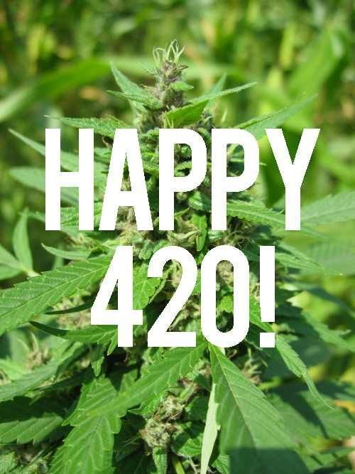 Happy 4-20 Quote pot weed marijuana 420 420 quotes