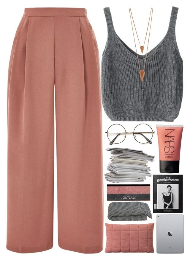 only me and my disgrace by akp123 on Polyvore featuring Topshop, Jules Smith, NARS Cosmetics, Muuto and Crate and Barrel