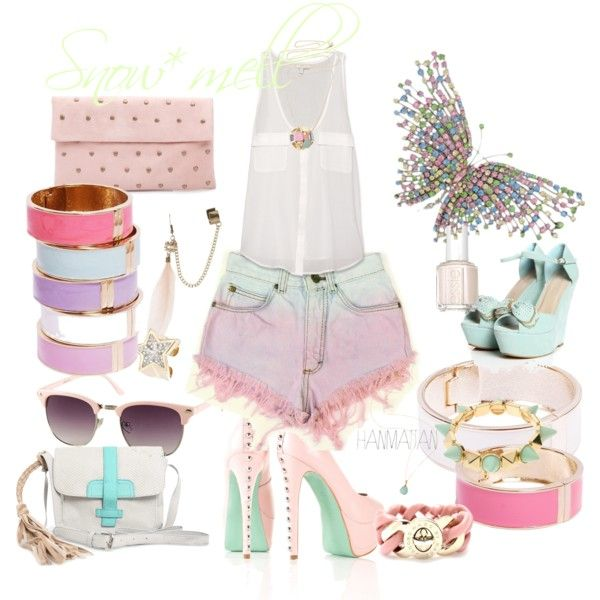 """pastel"" by snowmell on Polyvore"