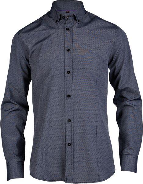Модная черно-серая рубашка