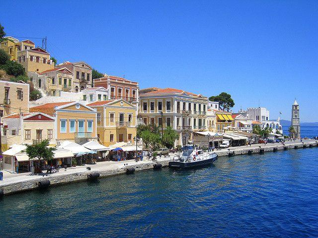 Rhodos island of Simi maggio