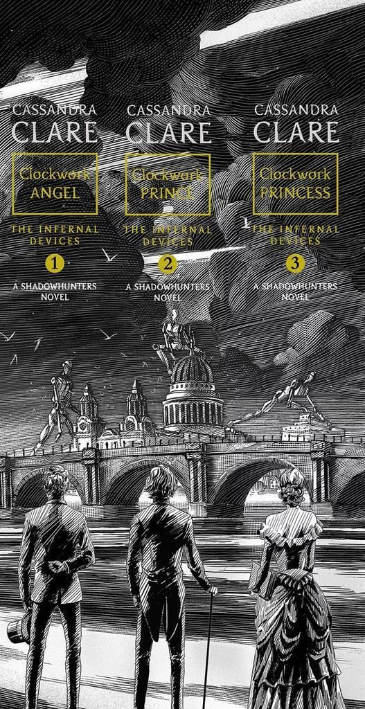 The Infernal Devices Redesign Book Spine