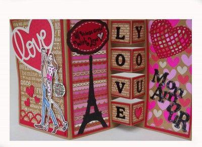 tarjetas de san valentin hechas a mano