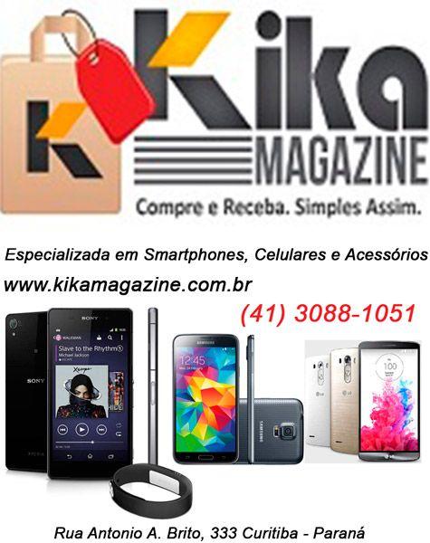 Especializada em Smartphones, Celulares e Acessórios. (41) 3088-1051 Rua Antonio A. Brito, 333 Curitiba - Paraná