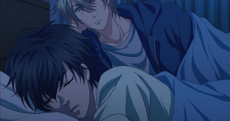 Ren et Haru - Super lovers