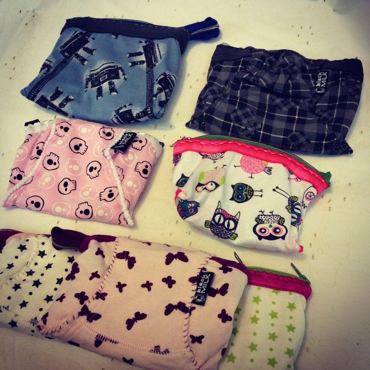 Mutande portamonete | Slip purses #handmade