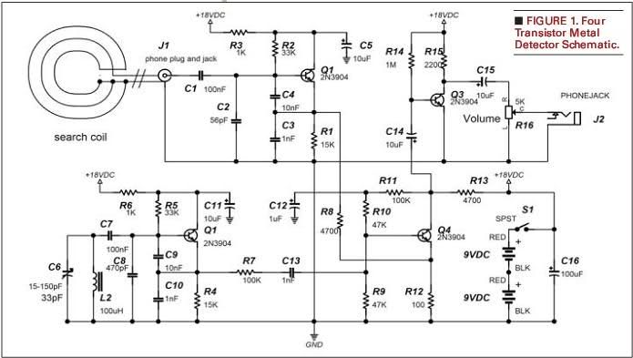 gold detector circuit diagram air fuel ratio meter wiring metal free download image search results | projects to try pinterest ...