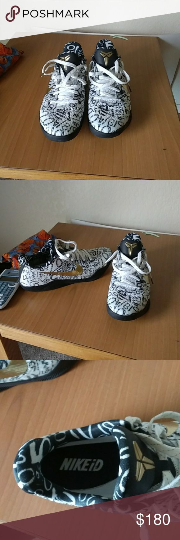 outlet store 41508 37e00 ... low price nike id mamba day kobe 11 9 10 condition worn once mamba day  nikeid