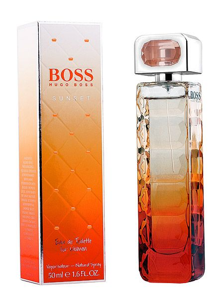 Hugo Boss - Orange sunset: Love this perfume! Its so light and feminine! I saw it on a shelf at a friends house. It had my attention right away and I started to look for this fragrance everywhere!