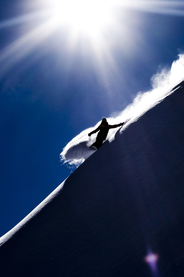 Margot Rozies - Chamonix ©Georges #snow Do as much as you can, you never know when it's over