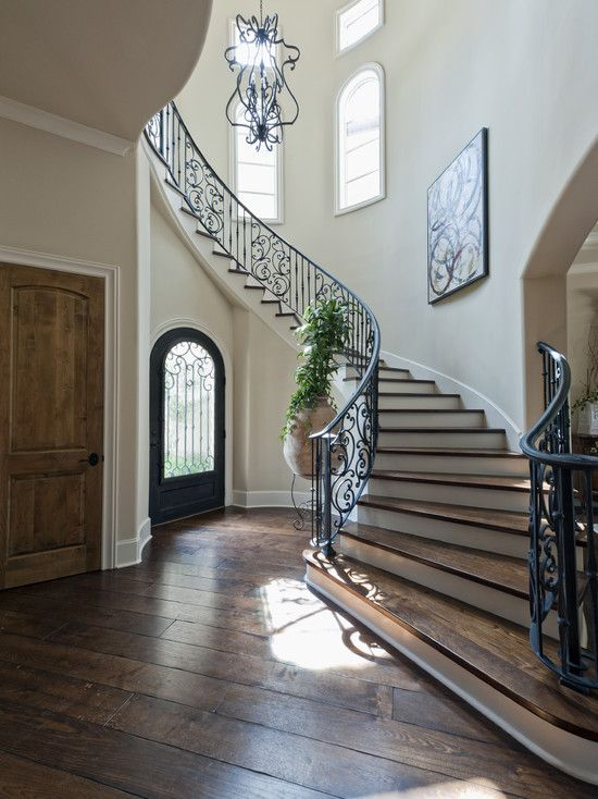 Mediterranean Stair Design Design, Pictures, Remodel, Decor and Ideas - page 4