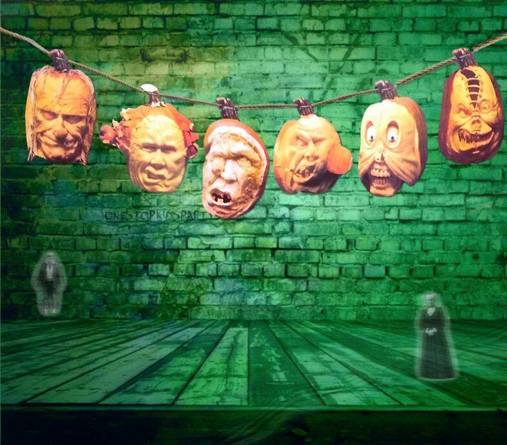 severed head garlandhalloween decorationshalloween party supplies - Ebay Halloween Decorations