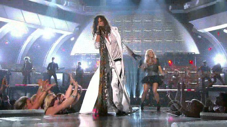 Carrie Underwood & Steven Tyler ~ Undo It & Walk this way 46th ACM Award...