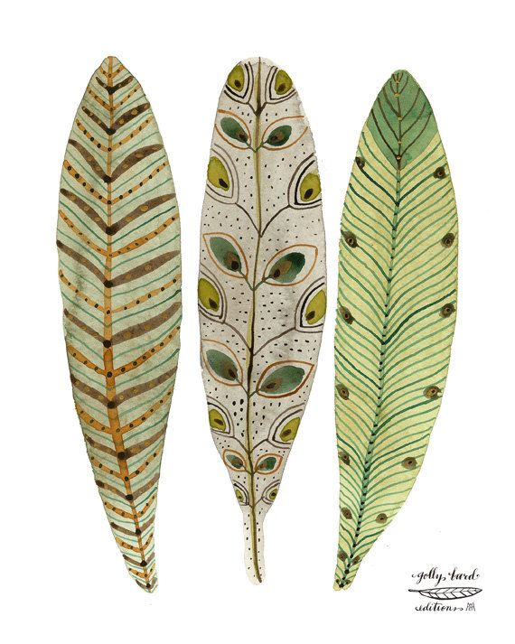 golly bard - bird feathers print.  This makes me want to play with watercolors.