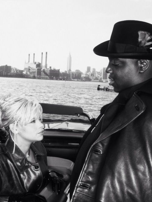 Image result for notorious big & faith evans wedding