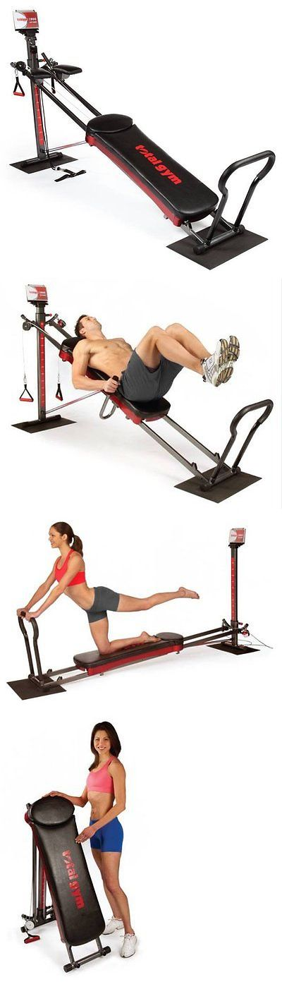 Abdominal Exercisers 15274: Total Gym 1900 Ultimate Home Fitness Exercise Machine Equipment + Dvds | R1900 -> BUY IT NOW ONLY: $389.99 on eBay!