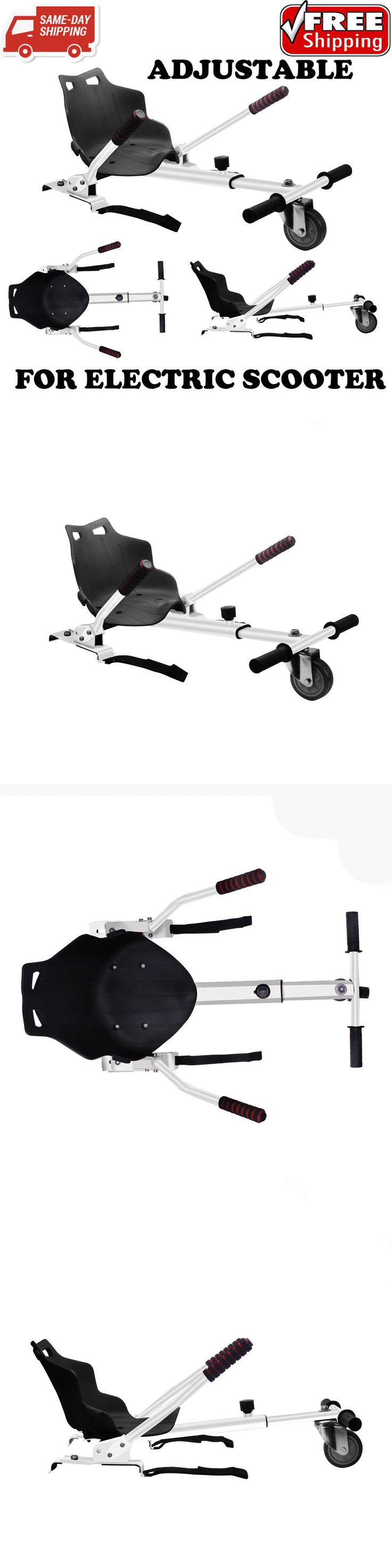 Parts and Accessories 11332: White Adjustable Go Kart Car Hoverkart Two Wheel Self Balancing Scooter For Kids -> BUY IT NOW ONLY: $37.89 on eBay!