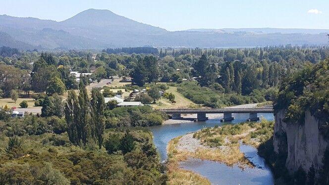Tongariro trail bike ride, Turangi, Taupo.