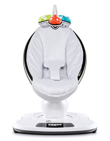 Buy the 4moms mamaRoo infant seat, with 5 unique motions and app control from smart device. Choose from 2 fabrics and 5 color options. Free shipping!