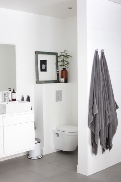 Via It's a House | White Bathroom | Nordic | Minimal