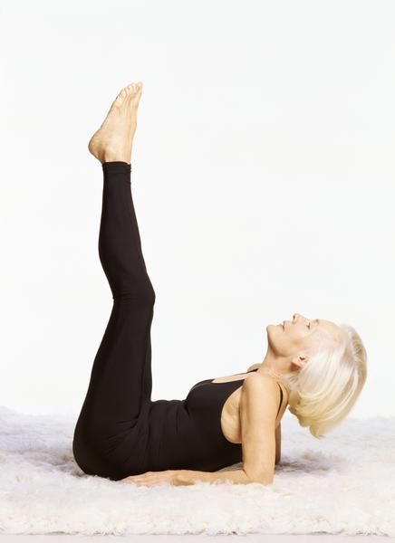 Exercises for Older Women to Lose Their Stomach - wouldn't recommend this.  You need your stomach to digest food.