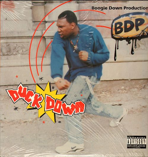 """Boogie Down Productions – Duck Down / We In There Label:Jive – 01241-42021-1 Format:Vinyl, 12"""", 33 ⅓ RPM Country:US Released:1992 Genre:Hip Hop Style:Conscious"""