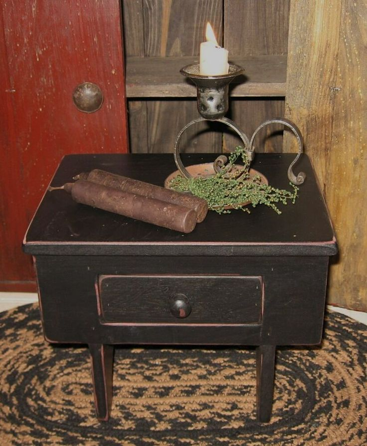 Wood Stool Table Riser*Drawer Box*Desk Organizer*Cupboard