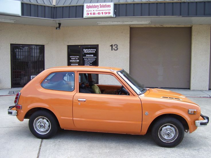 1974 honda civic my first new car put a racing strip down the middle cars pinterest. Black Bedroom Furniture Sets. Home Design Ideas