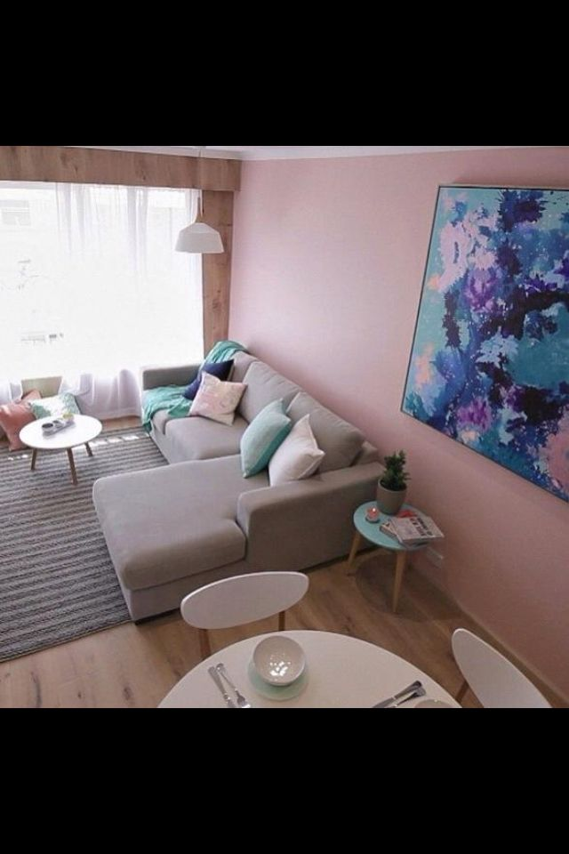 This is our finished result for round 2 of the Elimination Challenges; renovate a LIVING / DINING area in 48 hours. It was hard work - but it paid off. The colour wasn't everyone's choice, but we loved it :)