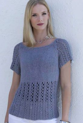 Vogue Knitting Bali Pacific View Tunic Knitting Pattern