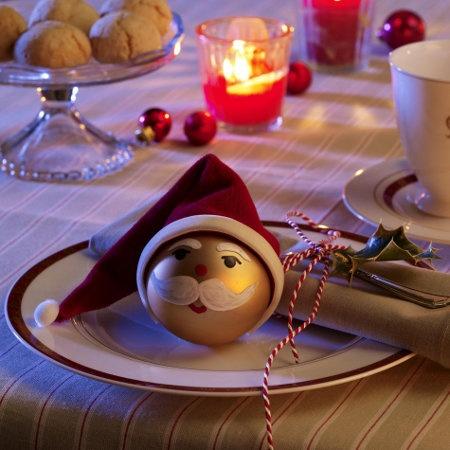 Individuelle Tischdeko zu Weihnachten