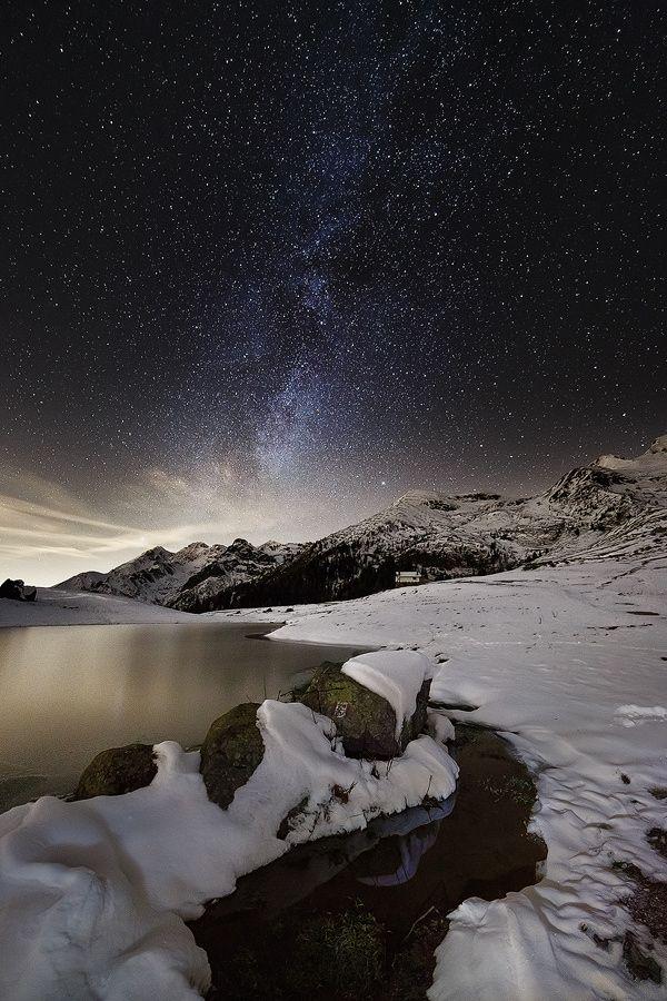 First Snow | Bergamo | Lombardy | Italy | Photo By Davide Arizzi