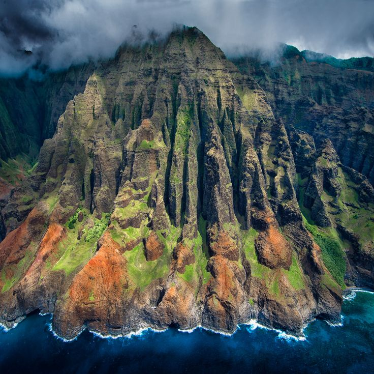 Private helicopter tours over kauai